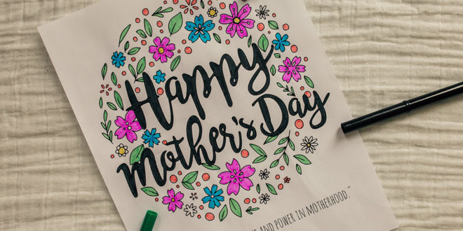 Free Happy Mother S Day Coloring Page Printable Lds Daily