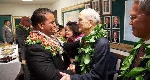 Prophet Brings 'Spirit of Aloha' to Pacific Ministry Stop in Hawaii