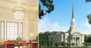 First Artistic Rendering of Richmond Virginia Temple Released