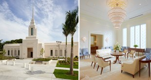 Here's Your First Look Inside the Haiti Temple
