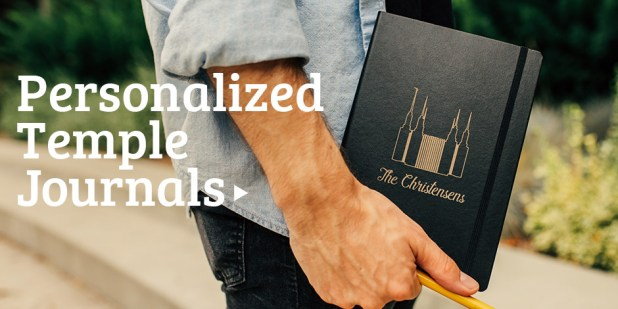 Personalized Temple Journal