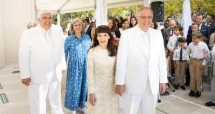 Elder Neil L. Andersen Dedicates Lisbon Portugal Temple