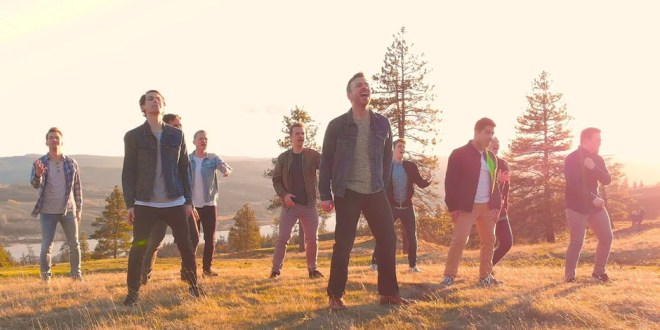 """BYU Vocal Point Joins Peter Hollens for Cover of """"The Climb"""""""