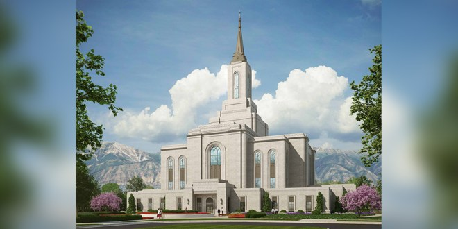 Rendering of Orem Temple Released, Grounbreaking Date Announced