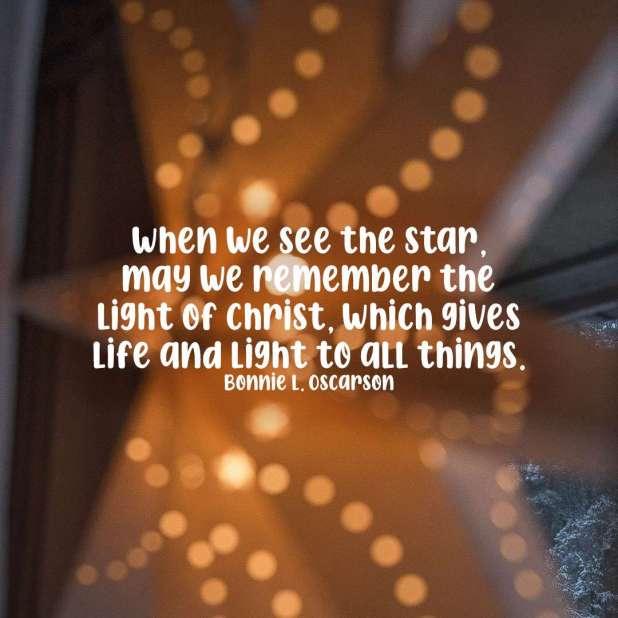 LDS Christmas Quotes | Bonnie Oscarson