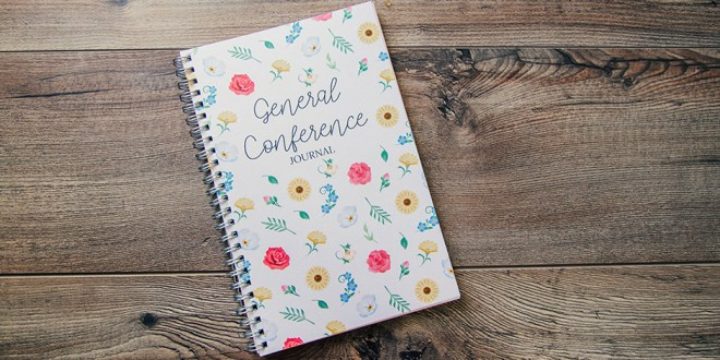 General Conference Journal Holds Entire Year of Inspiration