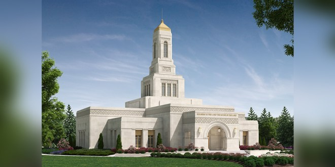 Location and Rendering Revealed for Helena Montana Temple