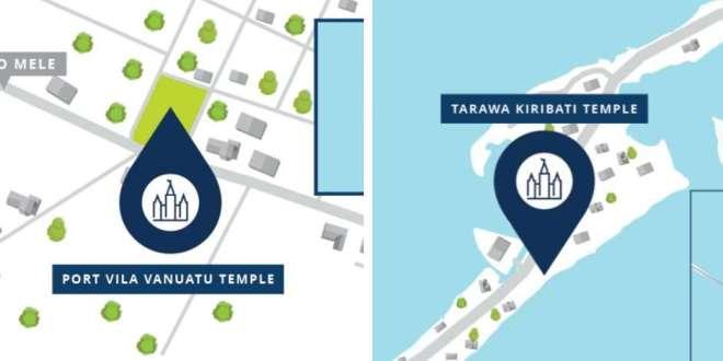 Vanuatu and Kiribati Temple Locations Announced