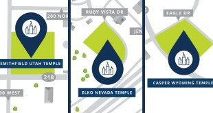 Locations Announced for Three Western US Temples