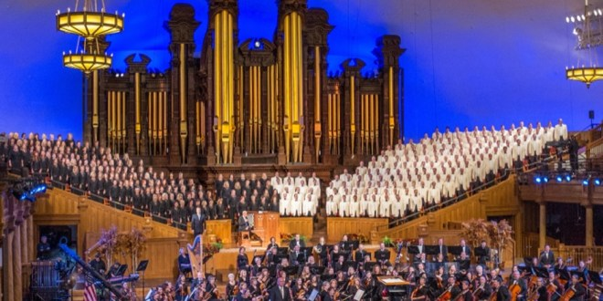 The Tabernacle Choir Returns to Temple Square