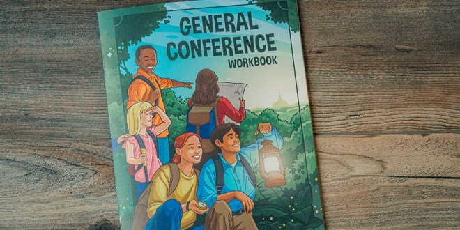 Go On a Gospel Adventure With This General Conference Workbook for Kids