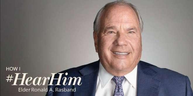 We #HearHim When We Act on Spiritual Promptings, Elder Rasband Says