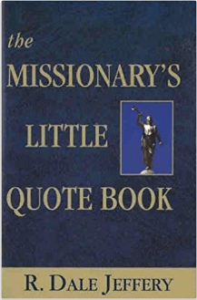 Missionaries little quote book