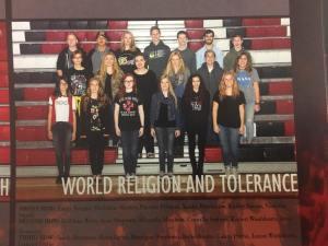 Jaxon on the World Religion and Tolerance Club