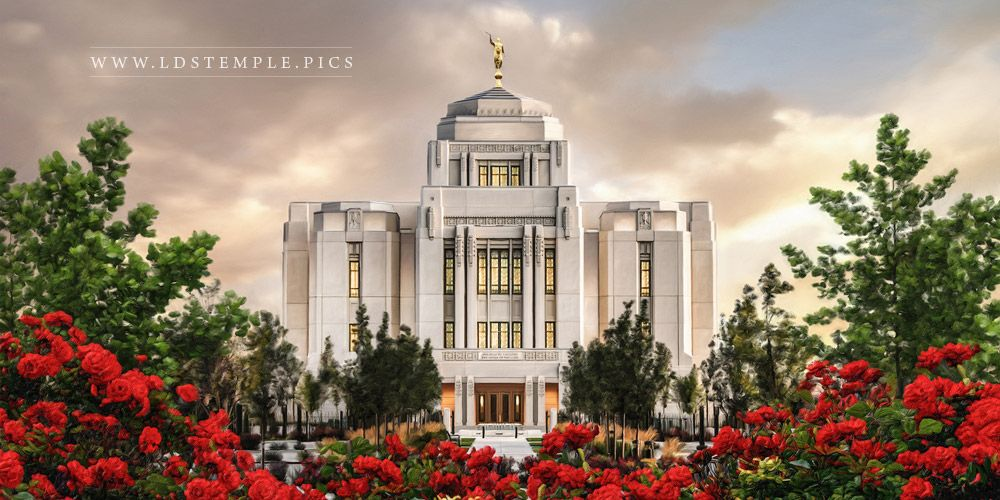 Old Fashioned Lds Temple Pictures Framed Ensign - Framed Art Ideas ...