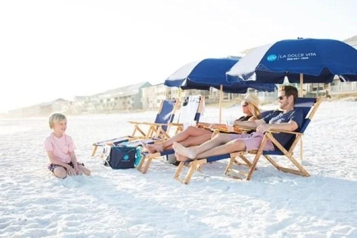 Beach Chairs & Umbrellas