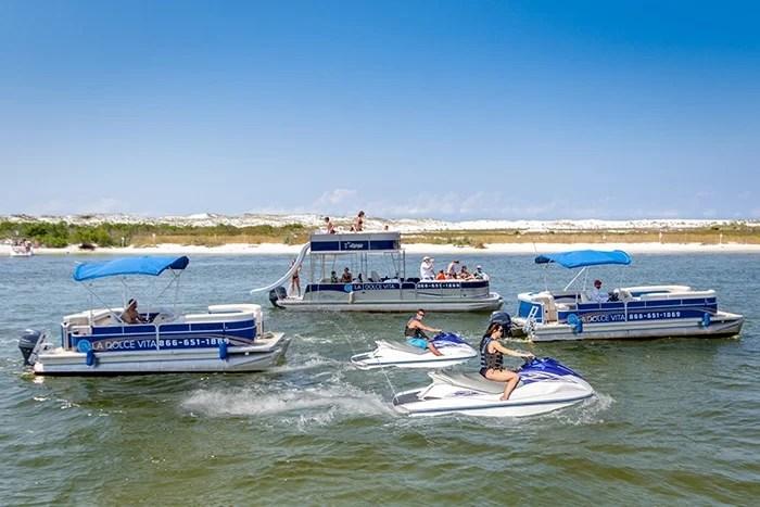 Pontoon Boats & Jet Skis