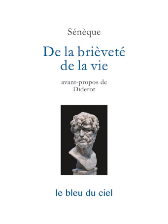 couverture du livre de Sénèque | De la brièveté de la vie