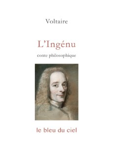 couverture du conte de Voltaire | L'Ingénu | 1767