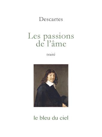couverture du traité de Descartes | Les passions de l'âme | 1649