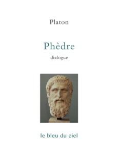 couverture du dialogue de Platon | Phèdre