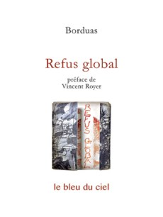 couverture du livre de Borduas | Refus global | 1948