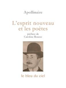 couverture du livre d'Apollinaire | L'esprit nouveau et les poètes | 1917