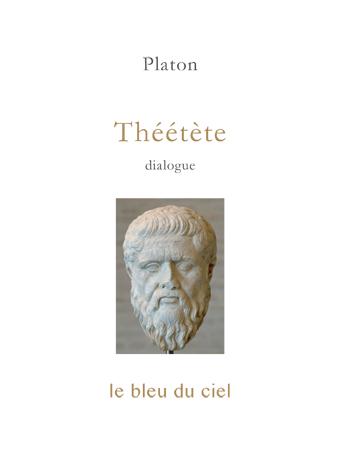 couverture du dialogue de Platon | Théétète