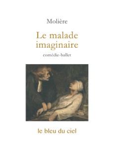 couverture de la comédie de Molière | Le malade imaginaire | 1673
