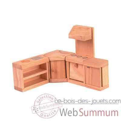 meuble cuisine en bois plan toys 9013