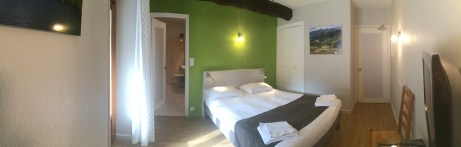 Chambre N° 8 Hotel Le Chalet Ax les Thermes