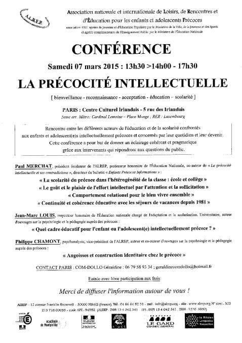 Conf Paris 07-03