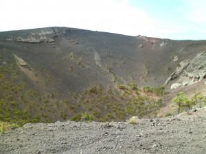 Le cratère du San-Antonio