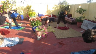 Yoga Larache avril 2015