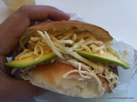 Pollo deshilachado en Arequipa