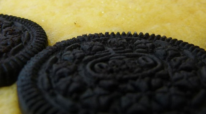 Cheesecake de Galletas Oreo Horneado