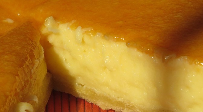 Pie Rápido de Crema Pastelera y Guayaba