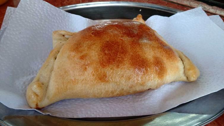 Empanadas chilenas ne Cuenca: de carne.