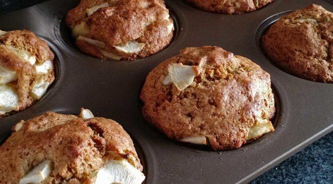 Muffins de Masa Madre