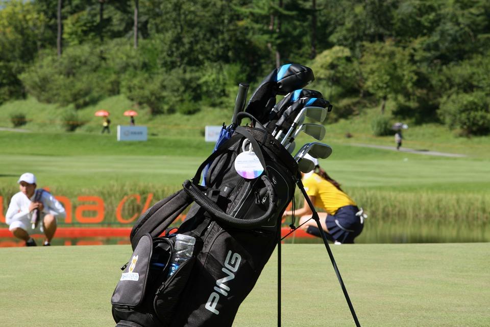 sac de golf trepied