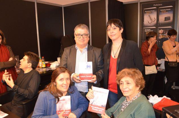 Les lauréates des Prix Méditerranée 2015 réunies au Salon du livre de Paris