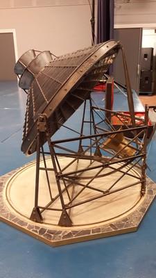 Maquette du four solaire himalaya