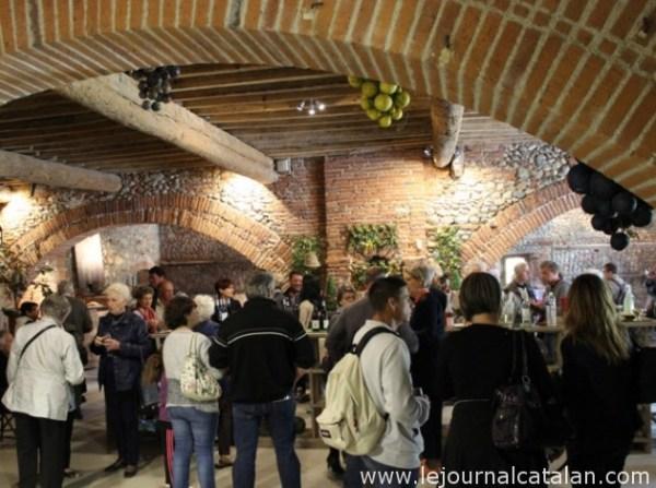 Plein succès pour la Fête de la Vigne et du Vin au Château Nadal-Hainaut – Photo © Le Journal Catalan.