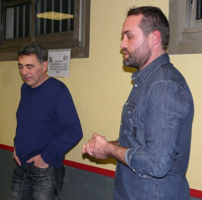 Le Président de l'ALPCA Pascal Durieux et Franck Rovira trésorier