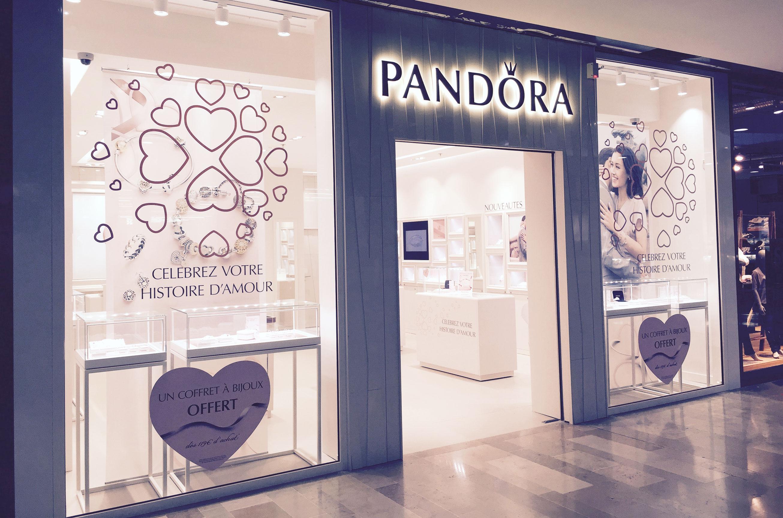 pandora inaugure une nouvelle boutique perpignan le. Black Bedroom Furniture Sets. Home Design Ideas
