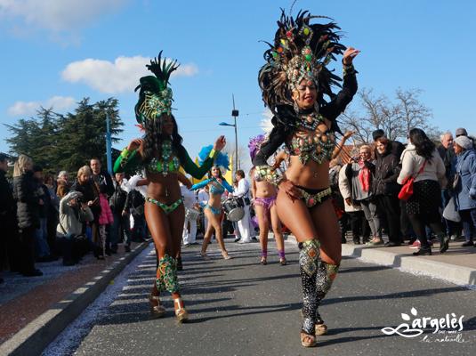 Carnaval d'Argeles - Cavalcade de nuit et bal de cloture
