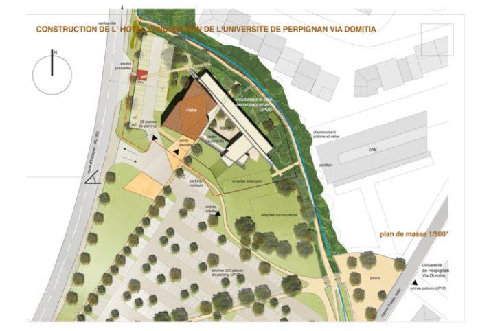 signature entre l'UPVD et Perpignan Méditerranée Métropole pour l'Hôtel d'Incubation