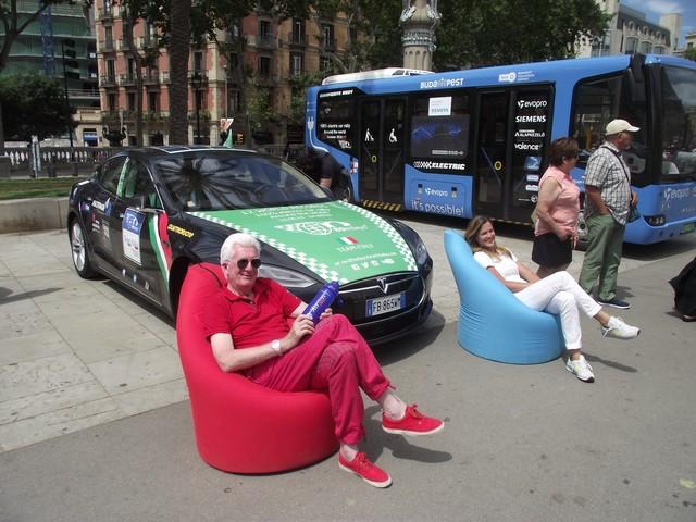 80 jours en voitures électriques