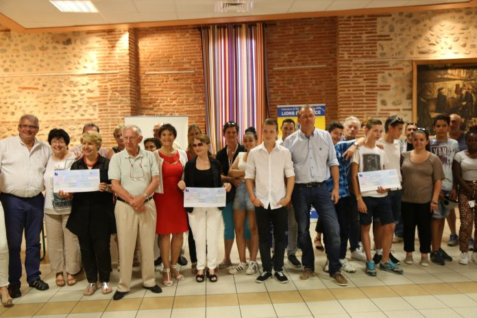 Le Soler Lions Club 6500 € de dons aux associations