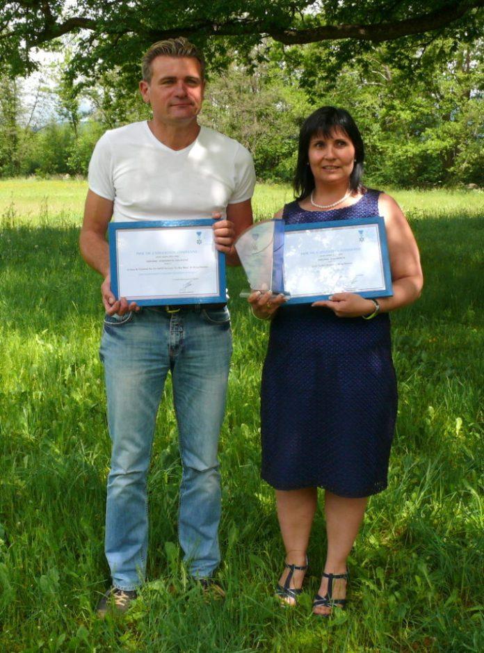 Mme Nathalie Seignol et Christophe Lagirarde